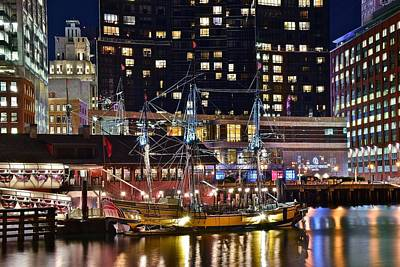 Photograph - Boston Tea Party by Frozen in Time Fine Art Photography