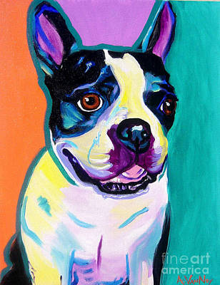 Boston Terrier - Jack Boston Original by Alicia VanNoy Call