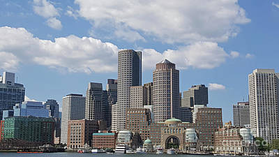 Photograph - Boston The Beautiful by Roberta Byram