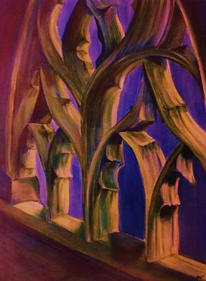 Painting - Boston Trinity Church by Dana Redfern