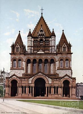 Photograph - Boston, Trinity Church by Granger