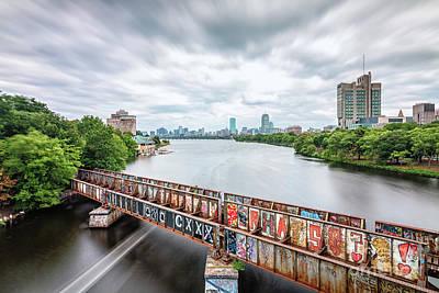 Photograph - Boston University Bridge by Mark Brennan