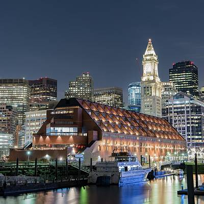 Photograph - 'boston Waterfront' by Jim Bosch