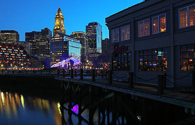 Photograph - Boston Waterfront by Juergen Roth