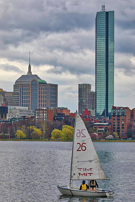 Photograph - Boston With A Chance Of Rain by Juergen Roth