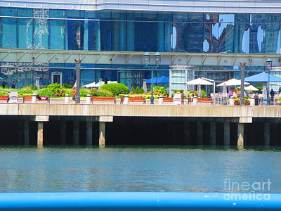 Photograph - Boston Wow That Perfect Picture Of Diners On The Patio Navinjoshi Fineartamerica Pixels by Navin Joshi