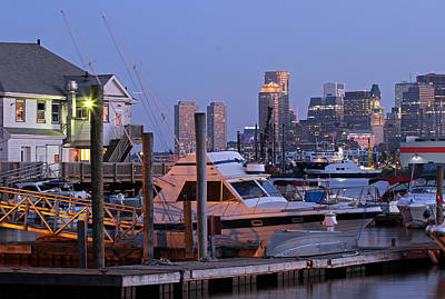 Photograph - Boston Yachting by Juergen Roth