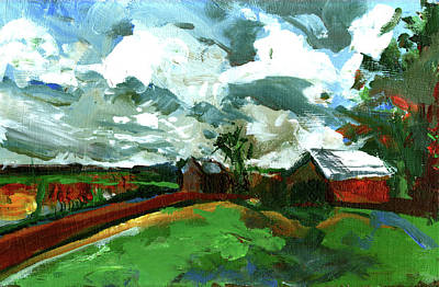 Painting - Bostwick by John Jr Gholson