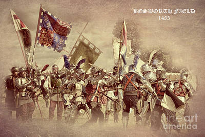 Photograph - Bosworth Re-enactment  by Linsey Williams