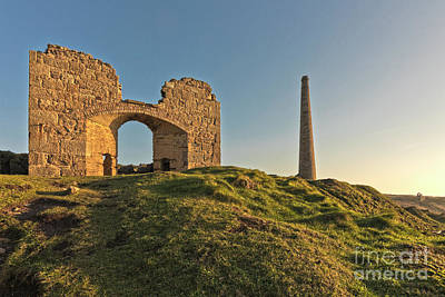 Photograph - Botallack Ruins by Terri Waters
