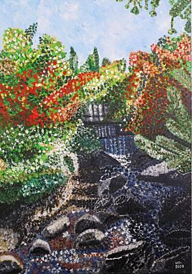 Painting - Botanic Garden Merano 1 by Valerie Ornstein
