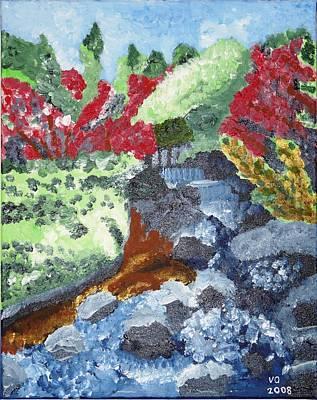 Painting - Botanic Garden Merano 2 by Valerie Ornstein