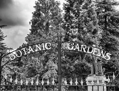 Photograph - Botanic Gardens Entrance by Jim Orr