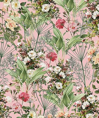 Digital Art - Botanic by Uma Gokhale