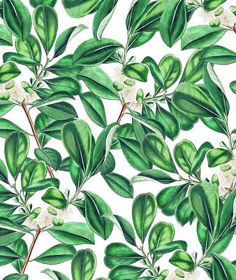 Painting - Botanica by Uma Gokhale