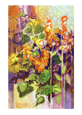 Painting - Botanical Abstraction, Study One by Betsy Derrick