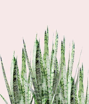 Botanical Balance Art Print by Uma Gokhale