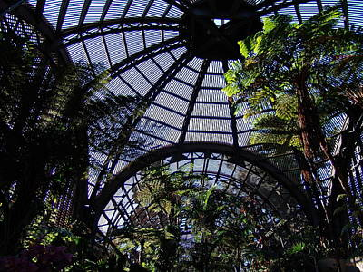 Photograph - Botanical Building Atrium 2 - Balboa Park by Glenn McCarthy Art and Photography