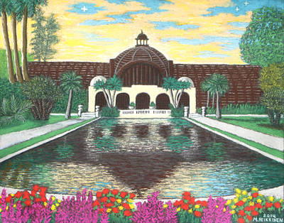 Botanical Building In Balboa Park 01 Art Print