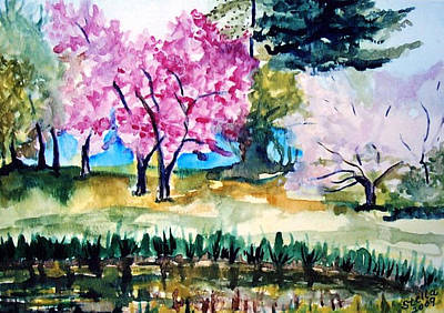 Painting - Botanical Garden by Stella Sherman