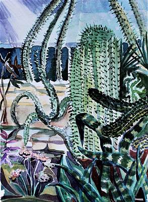 Painting - Botanical Gardens by Mindy Newman