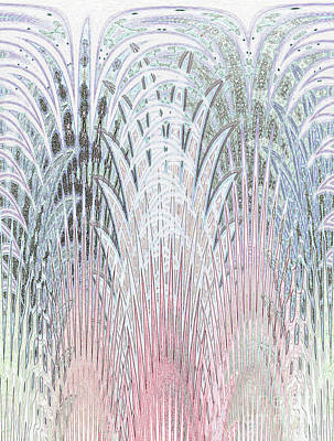 Botanical Weave				 Art Print by Ann Johndro-Collins