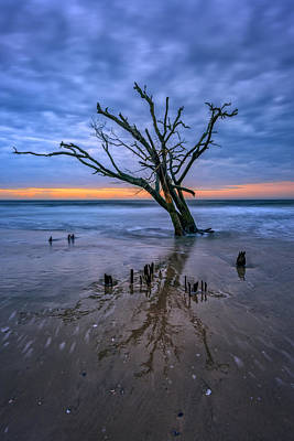 Photograph - Botany Bay Boneyard by Rick Berk