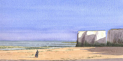 Painting - Botany Bay Broadstairs by Martin Howard
