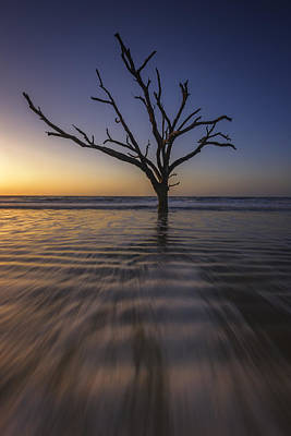 Botany Bay Morning Glow Art Print by Rick Berk