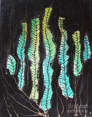 Abstractabstract Painting - Botany by Karla Britfeld