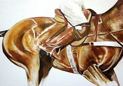 Polo Painting - Botas by Carlos Jose Barbieri