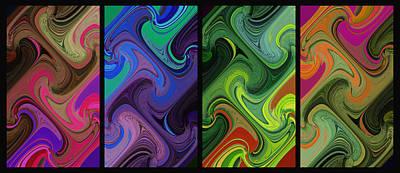 Digital Art - Both Ends Turning by David Pantuso