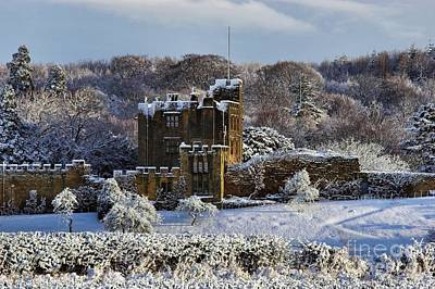 Bothal Castle In Winter Art Print