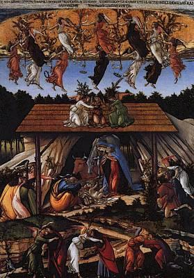 Digital Art - Botticelli Sandro Mystic Nativity by Sandro Botticelli