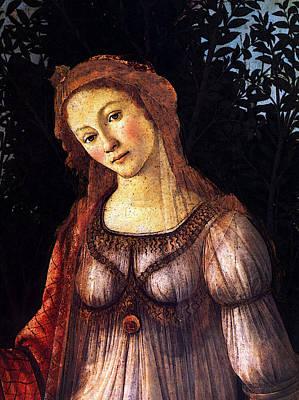 Digital Art - Botticelli Sandro Primavera Dt by Sandro Botticelli