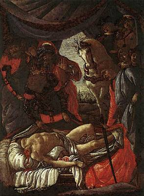 Digital Art - Botticelli Sandro The Discovery Of The Murder Of Holofernes by Sandro Botticelli