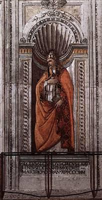 Digital Art - Botticelli Sixtus II by Sandro Botticelli