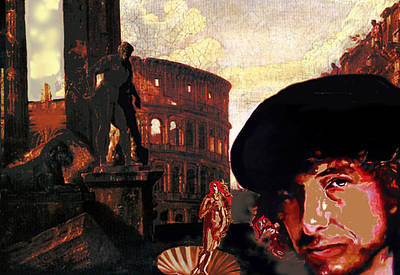 Bob Dylan Painting - Botticelli's Niece by Gordon Irving