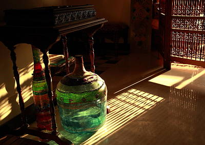 Photograph - Bottle And Light by Murtaza Humayun Saeed
