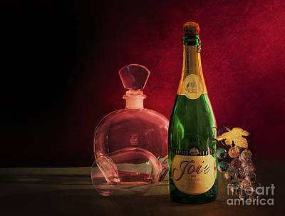 Photograph - Bottle by Charuhas Images