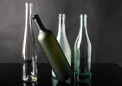 Venice Beach Bungalow - Bottle Collection by Carlene Smith
