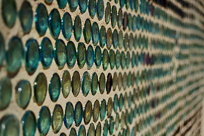 Photograph - Bottle House Abstract by Stuart Litoff