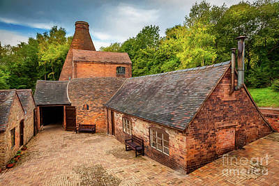 Photograph - Bottle Kiln Coalport by Adrian Evans