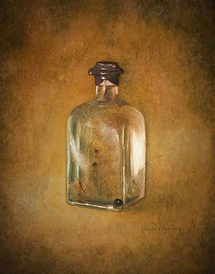 Painting - Bottle Of Light by Nanne Nyander