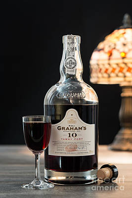 Graham Photograph - Bottle Of Port by Amanda Elwell