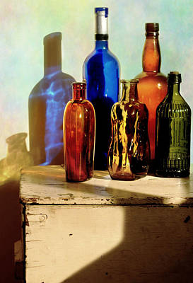 Photograph - Bottle Queue by Diana Angstadt