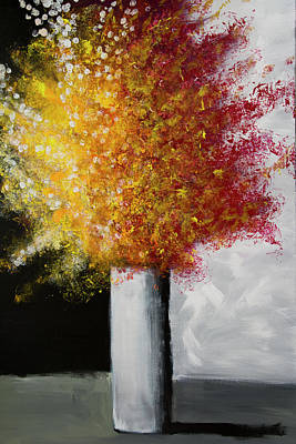 Painting - Bottle Rocket by Linda Bailey