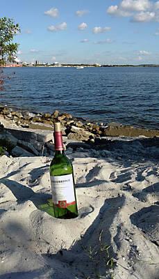Photograph - Bottled Beach by Steve Sperry