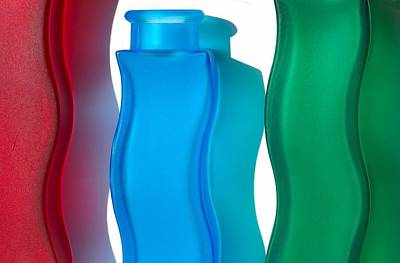 Art Vase Photograph - Bottled Light by Dan Holm