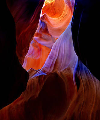 Canyons Photograph - Bottled Light by Mike  Dawson